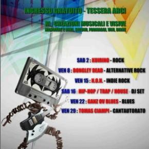 Gennaio live music alla Fabbrica dell'Ossi