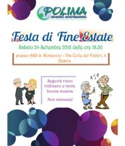 Pescia S. Domenico : Festa di fine estate
