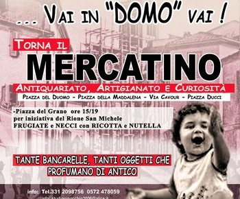 "Pescia Domenica 30 ottobre 2016 : Vai in ""Domo"" vai!"