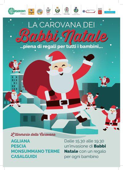 46d546cd4a La Carovana dei Babbi Natale… piena di regali per tutti i bambini ...
