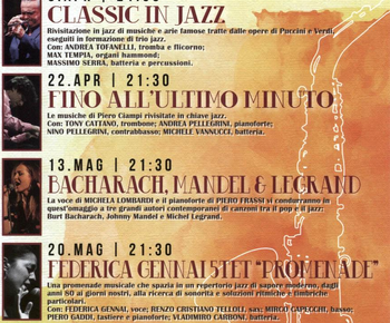 "Sabato 27 Maggio alle ore 21,30 al Teatro Pacini ""Montecatini City Band Basie e Beyond""."