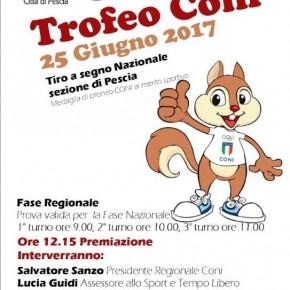 Tiro a Segno Nazionale Pescia : domenica 25 giugno 2017 Trofeo CONI