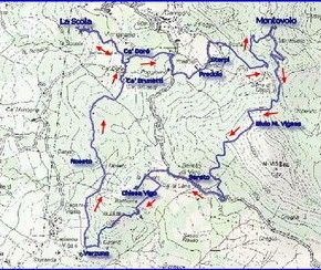 Escursione CAI 18 Giugno 2017 Anello di Montovolo (con visita a La Scola e altri borghi medievali della Val Limentra)