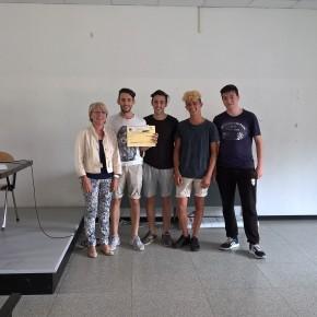 """Premiate le classi vincitrici dei """"Giochi a squadre di Matematica """" all'ITS  Marchi di Pescia"""
