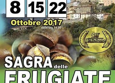 Sagra delle frugiate a Vellano: domenica 8, 15 e 22 ottobre 2017
