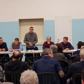 C.I.A. Riunione ieri a Chiazzano promossa da Cia Pistoia e Comitato creditori di Bruschi
