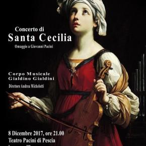 Pescia 8 dicembre Concerto di Santa Cecilia Omaggio a Giovanni Pacini