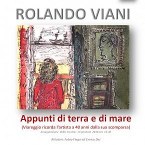 """Hotel Esplanade di Viareggio ROLANDO VIANI - """"APPUNTI DI TERRA E DI MARE"""" - Mostra antologica in programma dal 13 gennaio al 15 febbraio."""