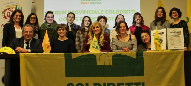 Michela Nieri a capo delle imprenditrici agricole di Coldiretti Pistoia
