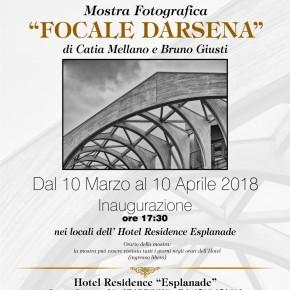 """Sabato10 marzo  Hotel Esplanade Viareggio - Mostra """"Focale Darsena"""" di Catia Mellano e Bruno Giusti"""