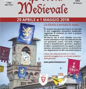 Martedì 1° Maggio Pescia Medievale 2018