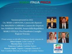 Giovedì 17 maggio Carfagna, Stella,Carrara, Masini e Bergamini incontrano Conforti ed i candidati di Forza Italia.