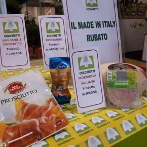I danni alle filiere agroalimentari dal falso Made in Italy.  Anche Pistoia mobilitata per dire #stopcibofalso     Si firma online, oppure nei mercati Campagna Amica di Quarrata, Pistoia e Pescia  e nelle sedi di Coldiretti