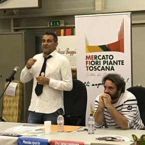 Pescia elezioni : Giurlani fa il pieno al Mefit e raccoglie consensi per le sue linee di sviluppo della Pescia che verrà . Anche Pinocchio al centro di numerosi progetti futuri.