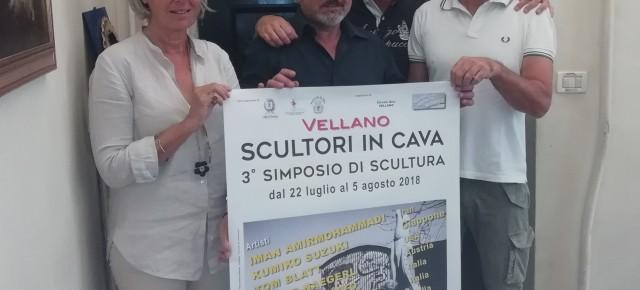 SCULTORI IN CAVA  Simposio internazionale di scultura   - VELLANO -  22 Luglio / 5 Agosto 2018