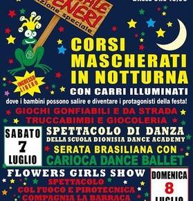 Carnevale estivo di Veneri - Edizione speciale Sabato 7 e Domenica 8 Luglio 2018
