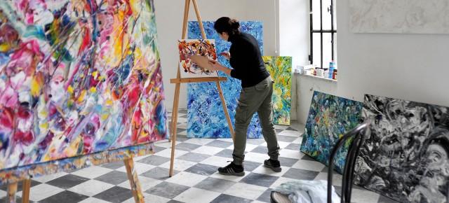 Metamorfosi del colore, Maria Rita Vita in mostra allo Storico Giardino Garzoni