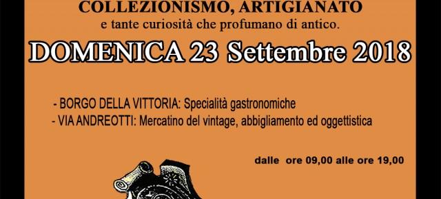 Domenica 23 settembre Pescia Antiqua nel centro storico cittadino
