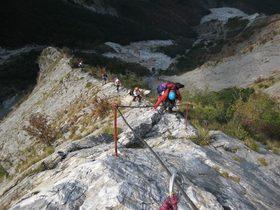 Escursione CAI 16 Settembre 2018 Sulle Alpi Apuane Settentrionali