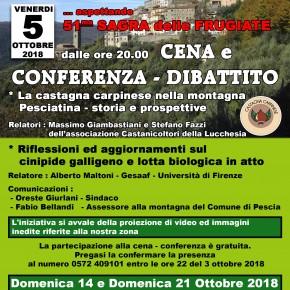 UN CONVEGNO A Venerdi 5 ottobre. VELLANO PER PARLARE DI CASTAGNE CARPINESI E DI CINIPIDE GALLIGENO