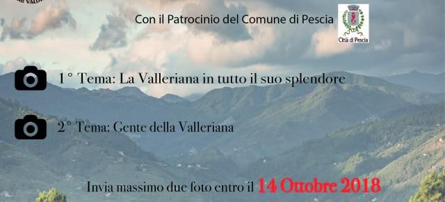 """Ancora un mese per partecipare alla seconda edizione del concorso fotografico """"Cartoline dalla Valleriana"""""""