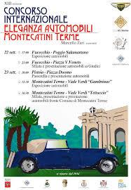 Presentato alla Banca di Pescia e di Cascina il Concorso Internazionale Eleganza Automobili Montecatini Terme memorial Marcello Zari
