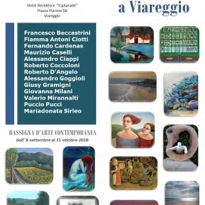 Gli artisti Fiesolani all'Esplanade di Viareggio