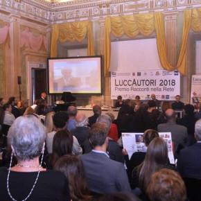 LUCCAUTORI 2018 - XVII PREMIO RACCONTI NELLA RETE Un grande successo con il coinvolgimento degli studenti e degli autori di tutta Italia