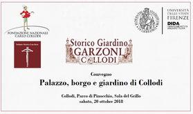 Sabato 20 ottobre Convegno al Parco di Pinocchio I Palazzo, il Borgo e il Giardino di Collodi