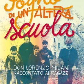 """VENERDI' 5 OTTOBRE  ore 10.00  Sala Conferenze - Villa Bottini (Lucca) ERALDO AFFINATI  presenta il libro """"Il sogno di un'altra scuola. Don Lorenzo Milani raccontato ai ragazzi""""."""