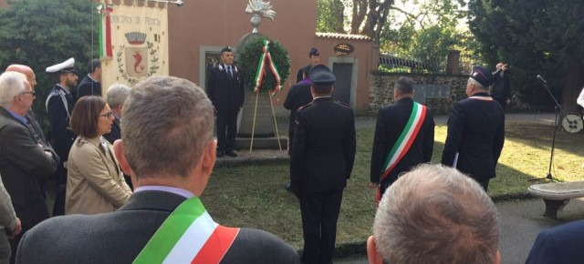 Pescia. Ricordati i Caduti di Nassiriya con una toccante e composta commemorazione.