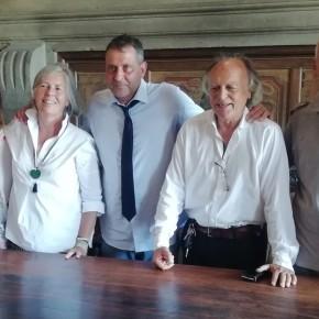 """La giunta Giurlani approva il progetto preliminare per la materna di Cardino.  Intervento da 286mila euro, di cui 192mila provengono dalla regione Toscana.  Il sindaco di Pescia """"Continuiamo a investire nella scuola """"."""
