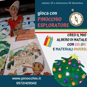 Pinocchio, avventura e creatività il 15 e 16 dicembre a Collodi!