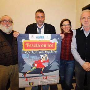 Il pattinaggio artistico di qualità si esibisce sulla pista di ghiaccio a Pescia in piazza Anzilotti  Venerdi 14 Dicembre 2018 dalle 15,30