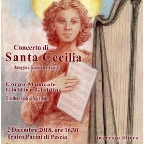 Teatro Pacini, domenica 2 dicembre.  Concerto di Santa Cecilia