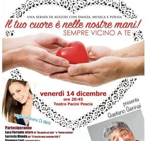 Pescia venerdì 14 dicembre. Festa degli auguri Associazione As.Va.L.T.