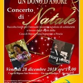 Successo del concerto ''Un dono d'amore'' nella chiesa del S.Domenico
