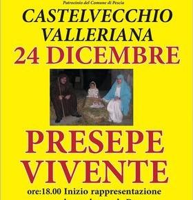 Natale in Valleriana Presepe vivente a Castelvecchio