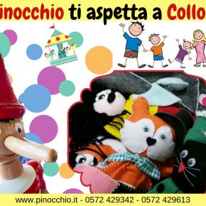 Pinocchio, programma attività del 12 e 13 gennaio 2019
