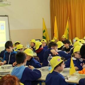CAMPAGNA AMICA RACCONTA… A SCUOLA  Appuntamento alla primaria Santa Lucia di Quarrata  350 bambini alle prese con salsicce e fagioli