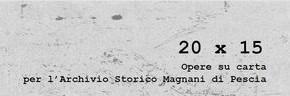 Sabato 12 gennaio. Inaugurazione Mostra al Museo della Carta 20 x 15