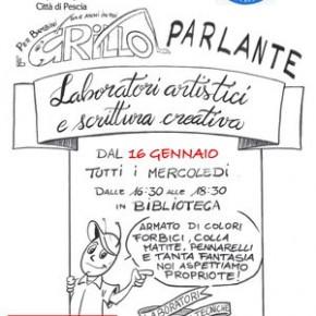 "Laboratori artistici e scrittura creativa Biblioteca Comunale ""C. Magnani"""