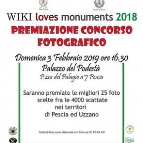 Palagio 03 Febbraio 2019 WIKI loves monuments 2018  Premiazione concorso fotografico