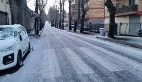 Franceschi : ''Strade ghiacciate, Comune e Provincia impreparati a questa situazione''.