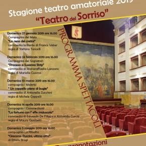 Ecco il Teatro del sorriso a Pescia  Al Pacini la stagione di teatro amatoriale