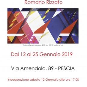 Pescia sabato12 gennaio Bottega d'arte Salvadori. Inaugurazione della mostra personale di Romano Rizzato