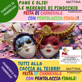 Parco di Pinocchio: eventi in programma nel weekend