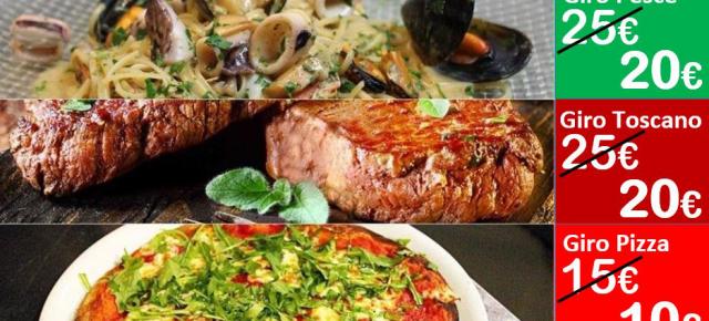 Ristorante Pucci Pescia. Viaggio gastronomico per il mese di febbraio a prezzi contenuti.