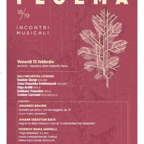 Venerdì 15 novembre. Concerto al Palagio   Floema incontri musicali