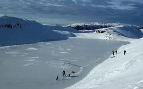 Domenica 17 febbraio.Ciaspolata al lago Scaffaiolo Ciaspolata tra gli Alpeggi ed i Poderi di Pietro Leopoldo fino al Lago Scaffaiolo